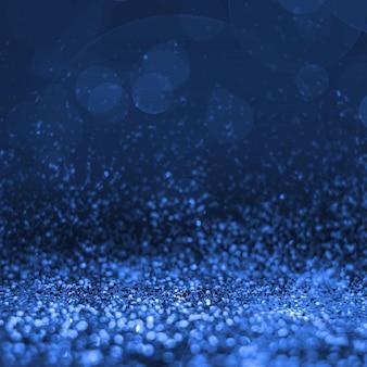 Абстрактный синий блеск перспективы на пустой фон