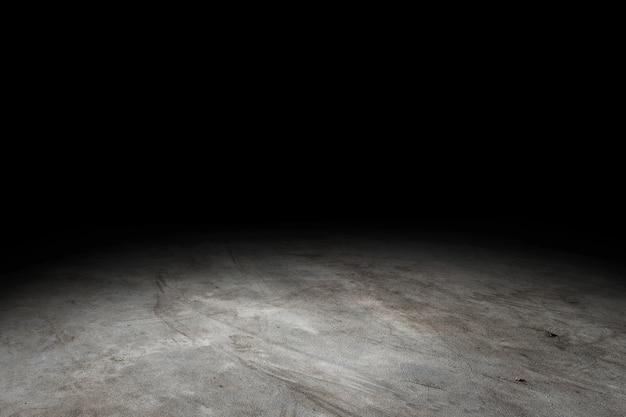グランジコンクリート床テクスチャ背景表示または製品のモンタージュ