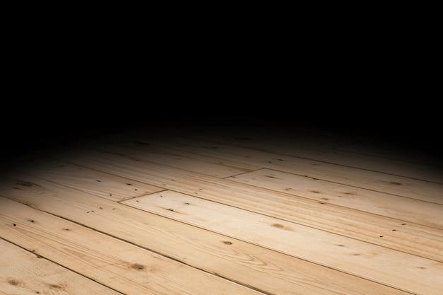 板の木製の床のテクスチャ視点の背景