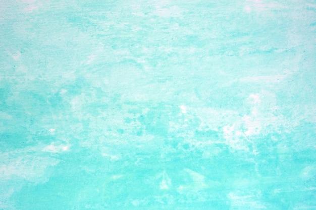 水彩画の背景、ホワイトペーパーの背景にアート抽象的な青い水彩画テクスチャデザイン