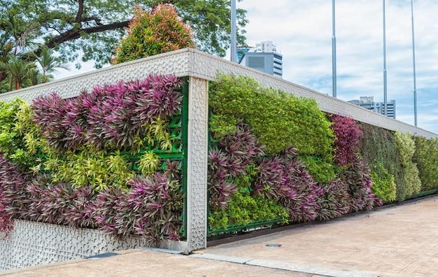 Вертикальный сад в центре куала-лумпура