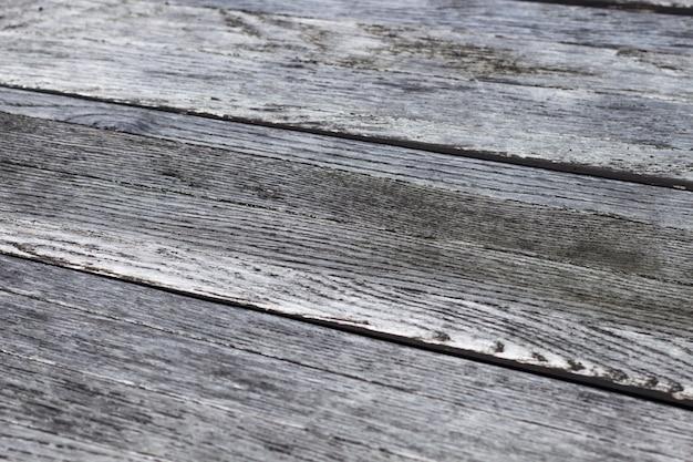 古い木の灰色 - 茶色の質感