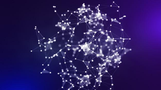 青と紫のネットワーク