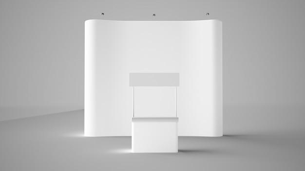 Выставочный стенд и стойка регистрации