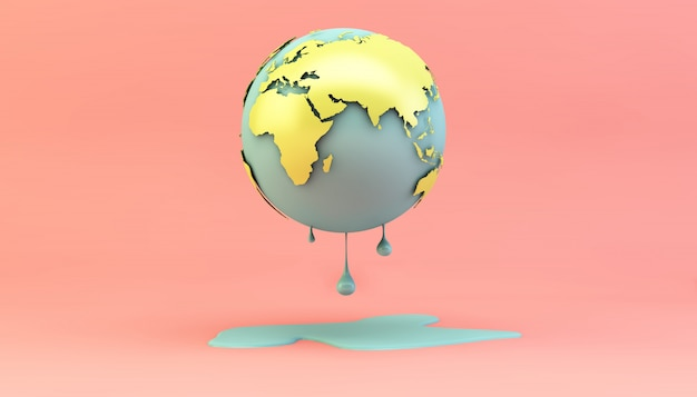 溶ける地球