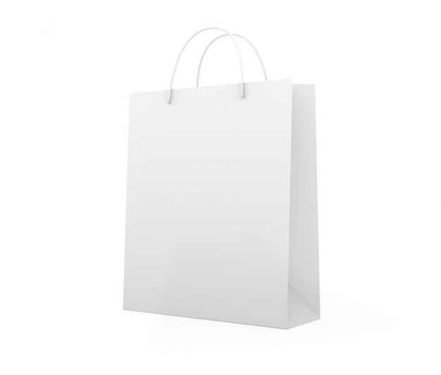 孤立したショッピングバッグ