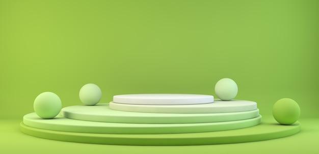Зеленая платформа презентационная платформа