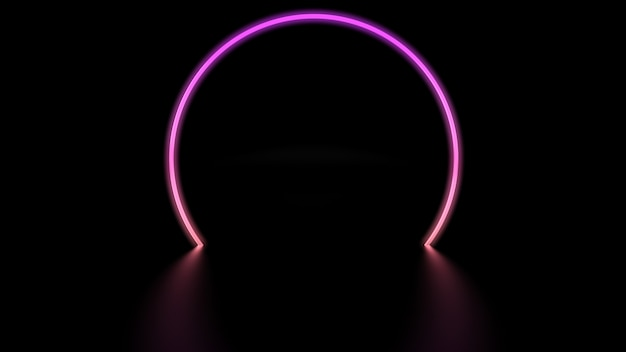 Цифровой круг света
