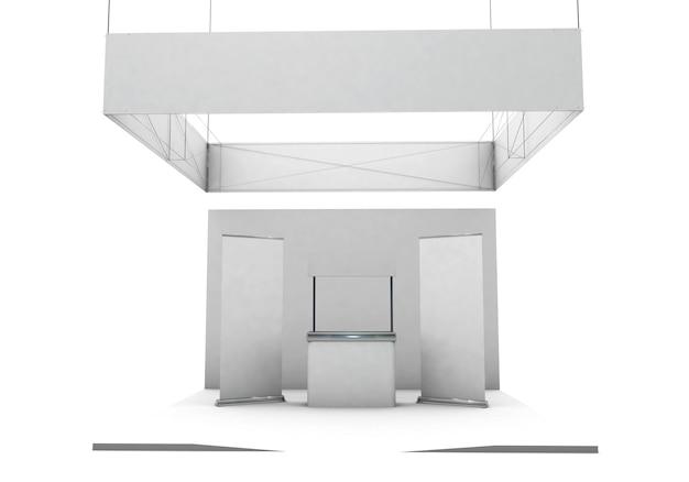 Выставочный стенд с подвесной фермой