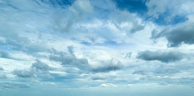 雲と青い空、素敵な一日。