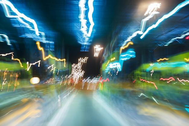 Абстрактный размытый свет