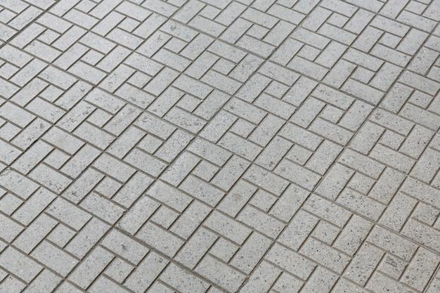 歩道床タイル通路の背景