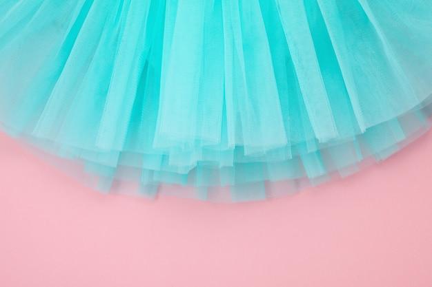 Вид сверху на платье балетной пачки
