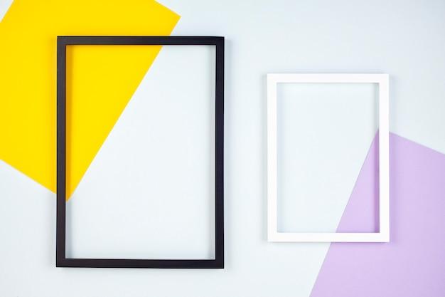 Абстрактная текстура бумаги пастельных тонов с пустыми рамками