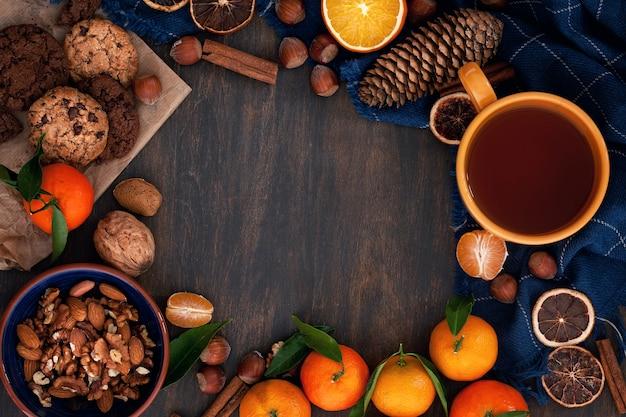冬の快適な食べ物