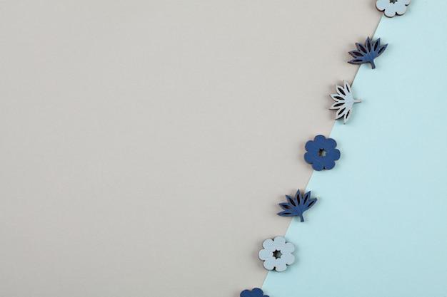パステル調の装飾的な最小限の背景