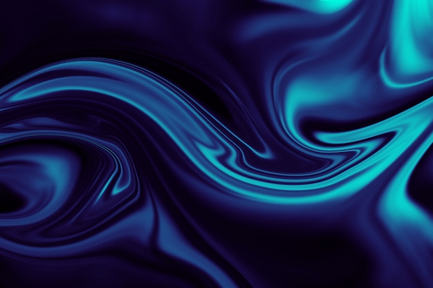 カラフルな液体ライナーの抽象的な背景。液体アクリルの抽象的なテクスチャ。