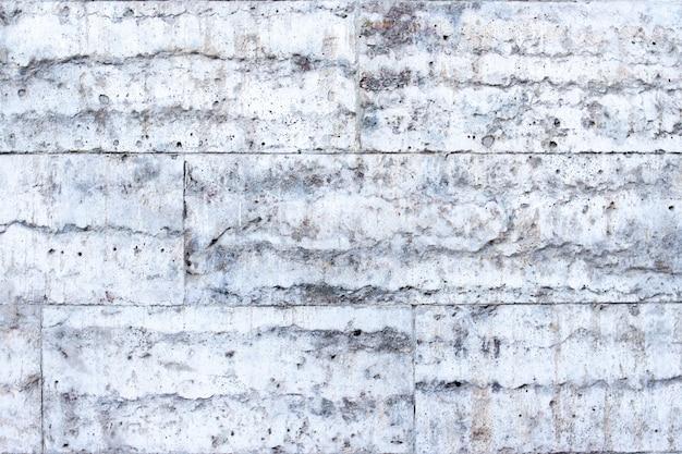 背景テクスチャ石またはセメント灰色のレンガ