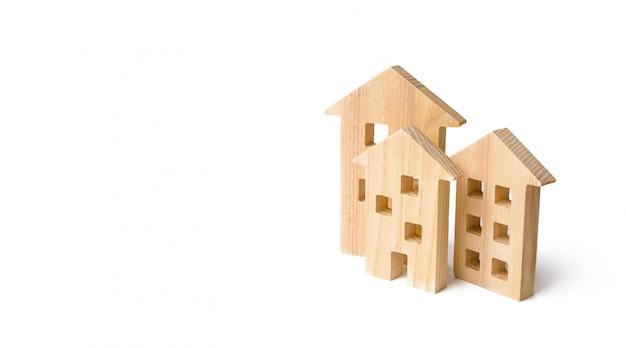 不動産の売買、建設。アパートとアパート。シティ、