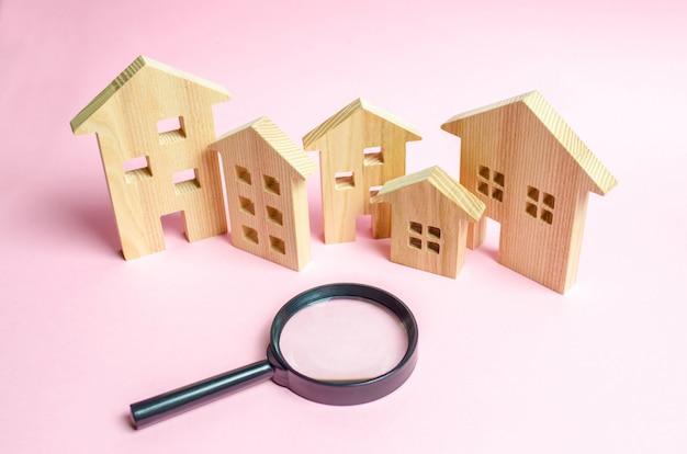 木造住宅がたくさん