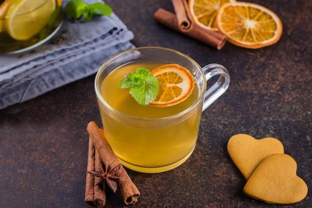 Зимний здоровый холодный напиток