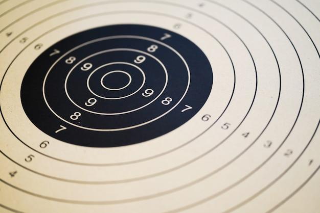 印刷可能な射撃標的とガン標的