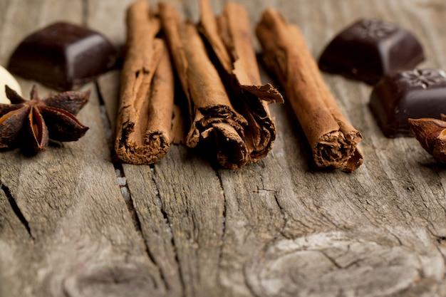 Корица, анис и шоколад