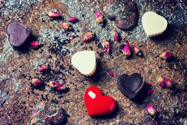 Романтическая композиция святого валентина