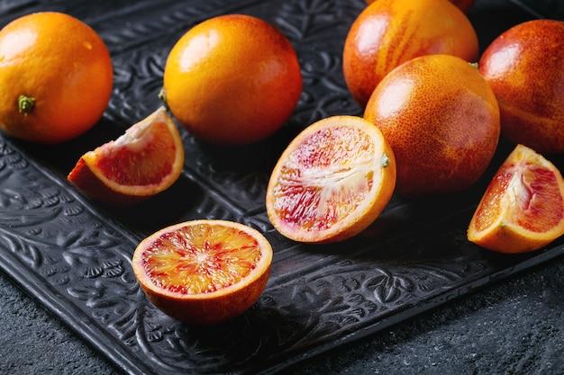 シチリアのブラッドオレンジフルーツ