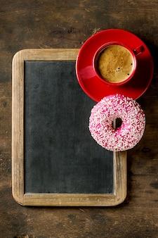 Классная доска и кофе