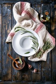 地中海風テーブル