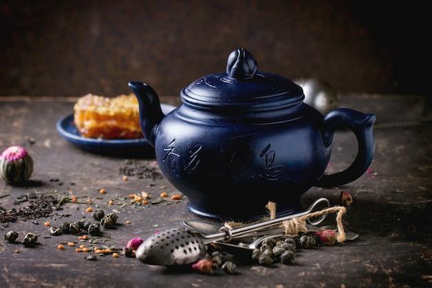 お茶と蜂蜜