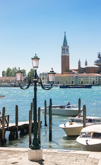 Летний венецианский вид на море