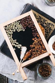 グリーン、ブラウン、ブラックコーヒー