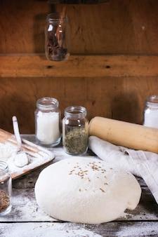 Пекущийся хлеб