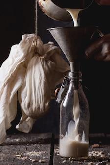 非乳製品アーモンドミルク