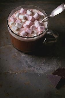 マシュマロとホットチョコレート