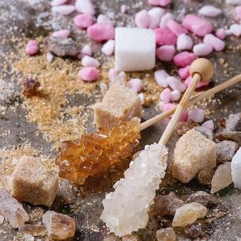 さまざまな砂糖
