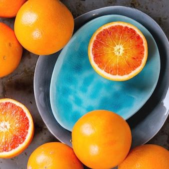 Кроваво-оранжевый плод