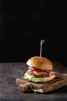 Домашний бургер из говядины
