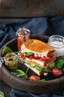 Низкоуглеводный хлеб сэндвич
