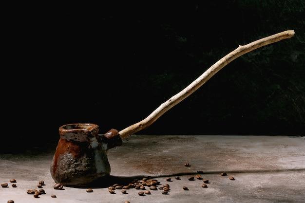 Черный турецкий кофе