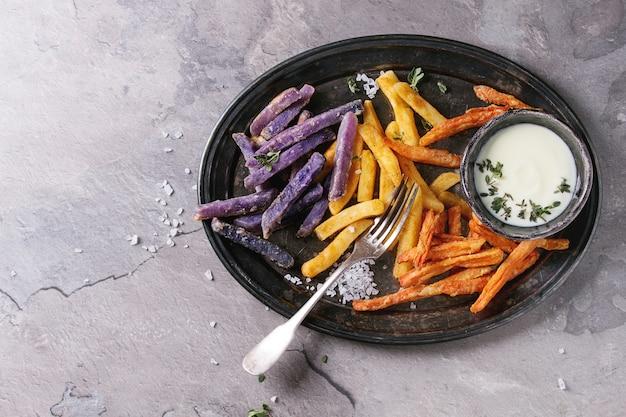 Разнообразие картофеля фри
