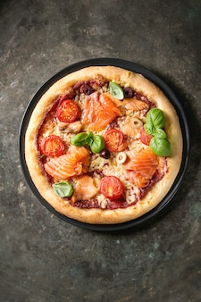 Пицца с са