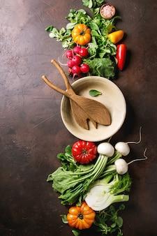 Разнообразие овощей