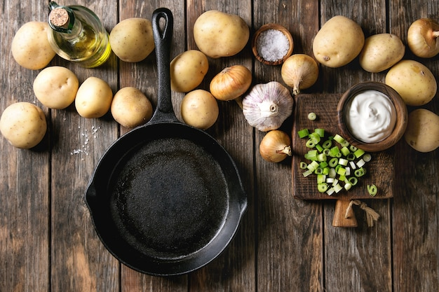 Ингредиенты для приготовления обеда