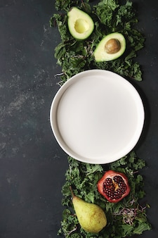 Зеленый салатный микс