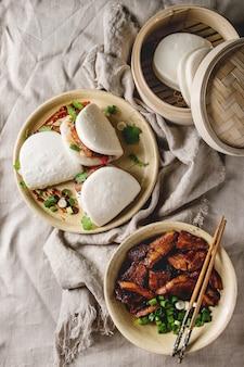 Гуа бао булочки со свининой