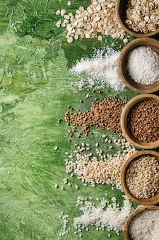さまざまな穀物