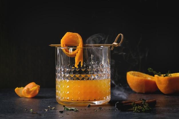 ウイスキーオレンジカクテル